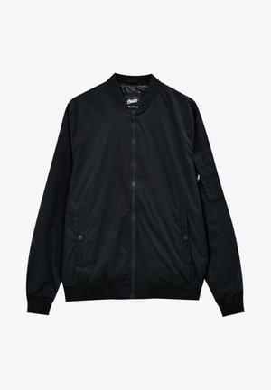 Bomber bunda - mottled black