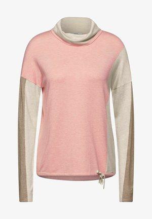 COLORBLOCK - Jumper - light pink, beige