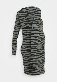 Supermom - DRESS ZEBRA - Jersey dress - black - 1