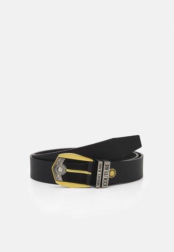 Belt - black/gold-coloured/silver-coloured
