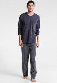 Schiesser - ANZUG LANG SET - Pyjama set - anthrazit - 1