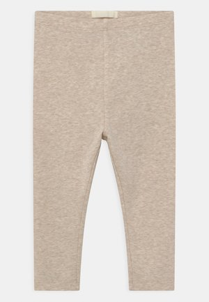 UNISEX - Leggings - Trousers - oat melange