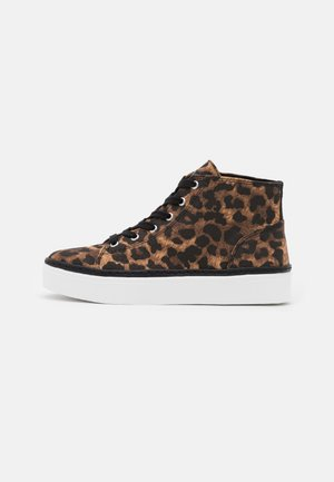 FAZED LACE UP - High-top trainers - brown