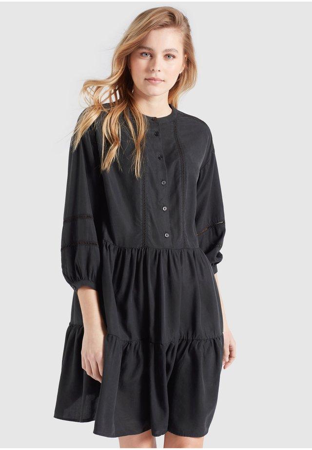 CREPES - Korte jurk - schwarz