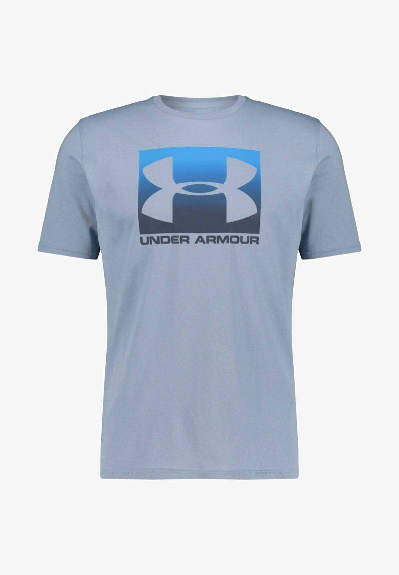 Under Armour - Print T-shirt - hellblau