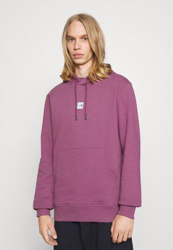 CENTRAL LOGO HOOD - Sweat à capuche - pikes purple