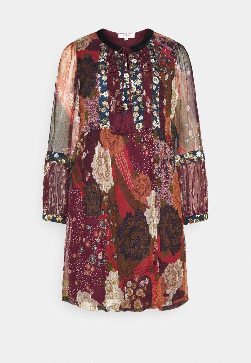 Derhy - ENCOURAGEE ROBE - Denní šaty - burgundy
