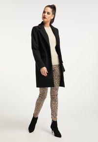 faina - Short coat - schwarz - 1