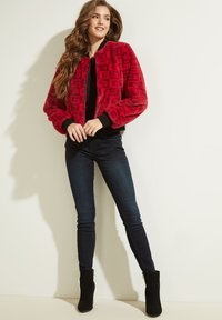 Guess - Bomber Jacket - rot/merf. - 1