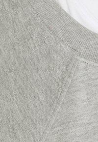 Proenza Schouler White Label - LONG SLEEVE  - Collegepaita - grey melange/white - 2