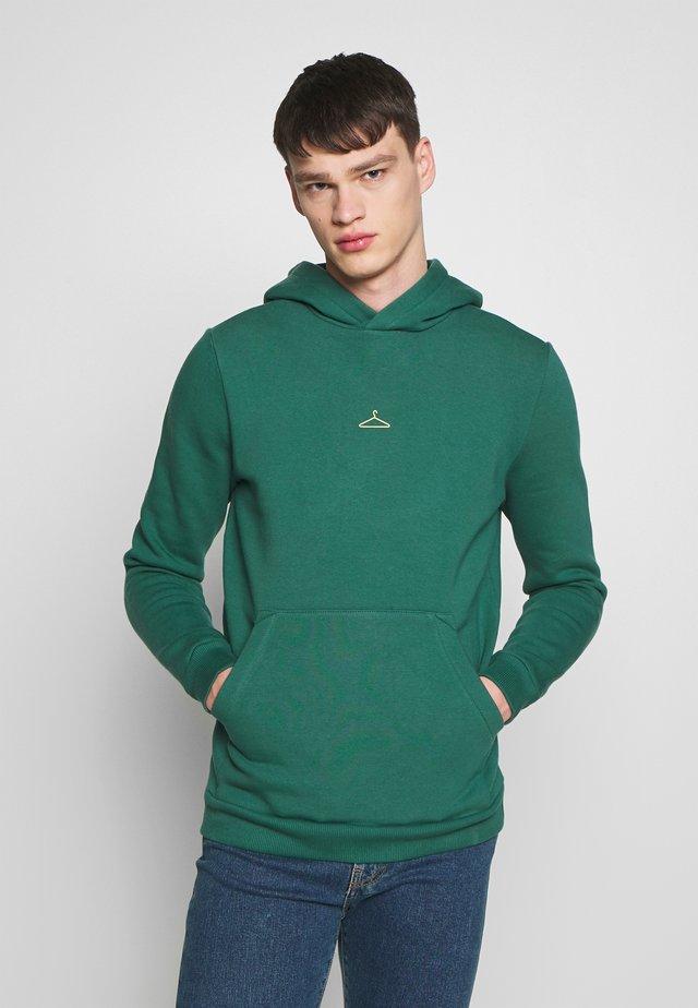 HANGER HOODIE  - Bluza z kapturem - green/yellow