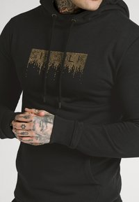 SIKSILK - CREEP OVERHEAD HOODIE - Sweatshirt - black - 4