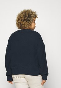Tommy Jeans Curve - BADGE - Cardigan - twilight navy - 2