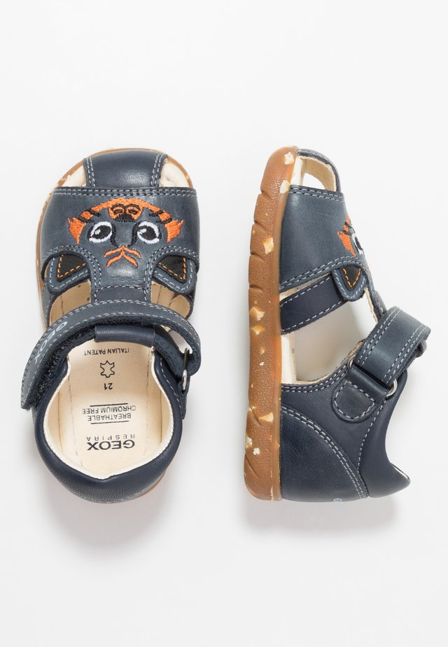 ALUL BOY - Baby shoes - navy