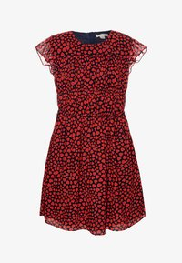 J.CREW - ELSA HEARTS DRESS - Sukienka letnia - navy/red - 0