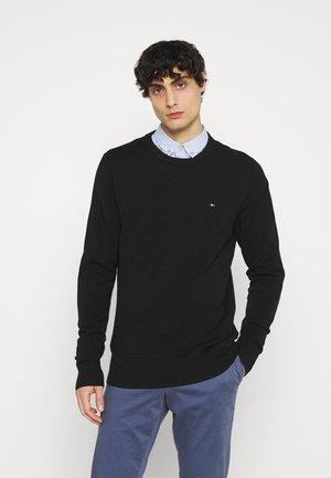 CREW NECK - Neule - black