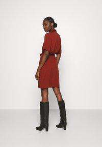 Zign - Shirt dress - dark red - 2
