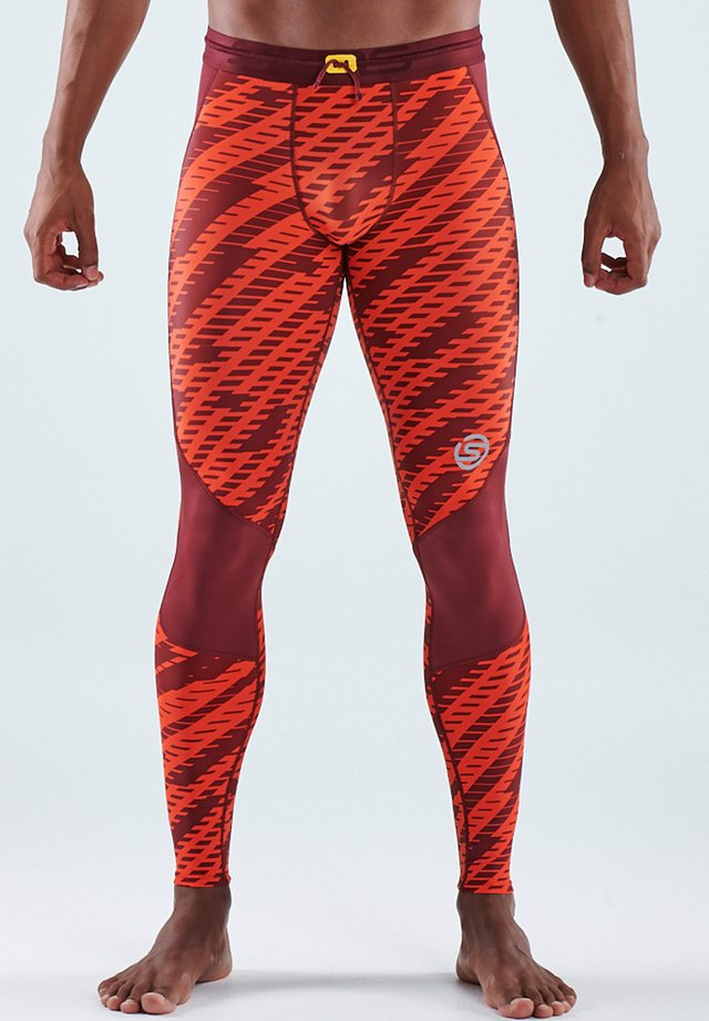 SKINS - Collants - flame geo print
