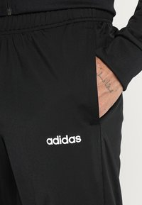 adidas Performance - ESSENTIALS SPORT TRACKSUIT - Tracksuit - black/black - 6
