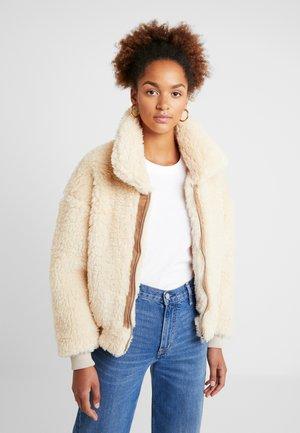 JACKET - Winter jacket - beige
