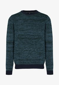 Basefield - MIT STRUKTURMUSTER - Sweatshirt - blau - 0