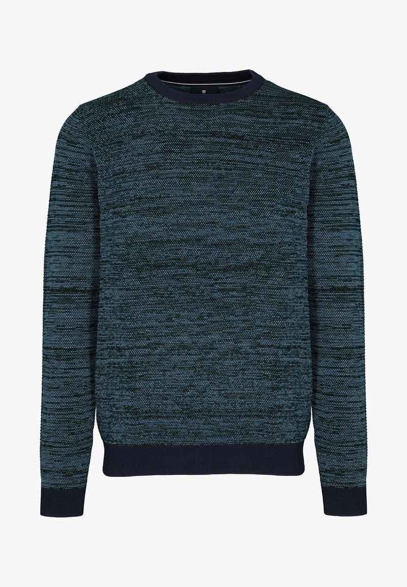 Basefield - MIT STRUKTURMUSTER - Sweatshirt - blau
