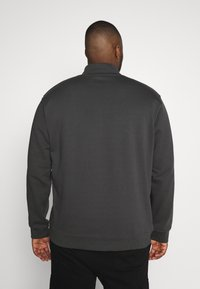 Mennace - ESSENTIAL SIG ZIP - Sweatshirt - charcoal - 2