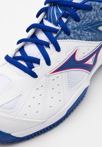 Mizuno - BREAK SHOT 2 CC - Tennissko til grusbane - reflex blue/white/diva pink - 5