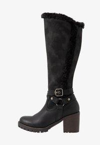 H.I.S - Vysoká obuv - black - 1
