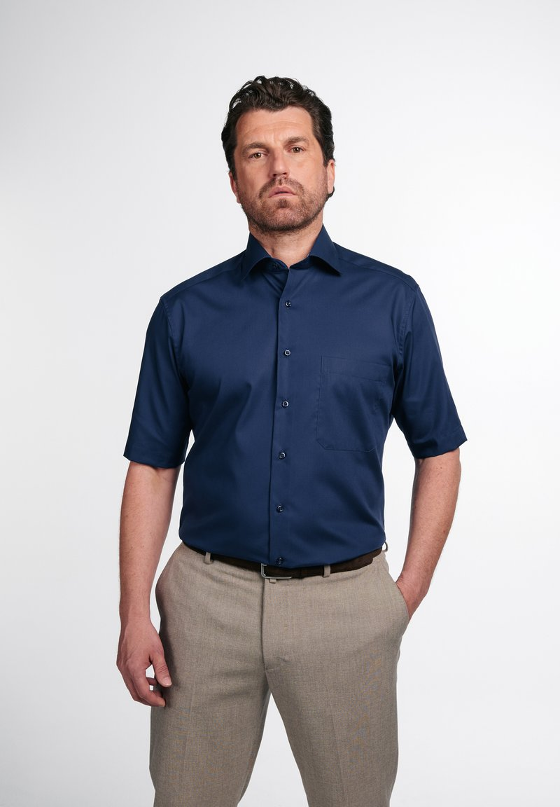 Eterna - COMFORT FIT - Formal shirt - marineblau