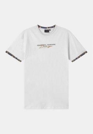 SIGNATURE - Print T-shirt - white