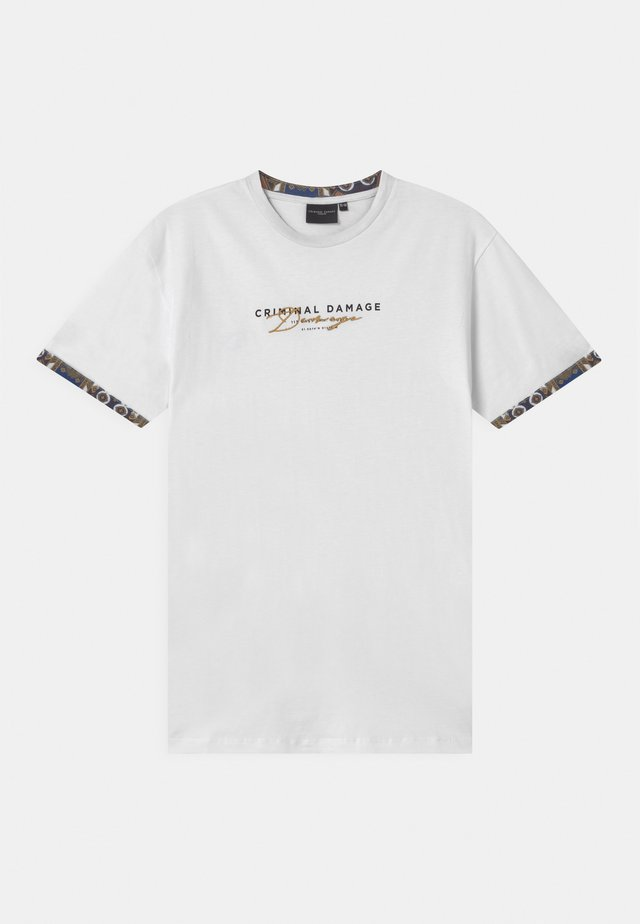 SIGNATURE - T-shirts print - white