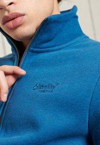 Superdry - Sweater met rits - dark cobalt marl - 2