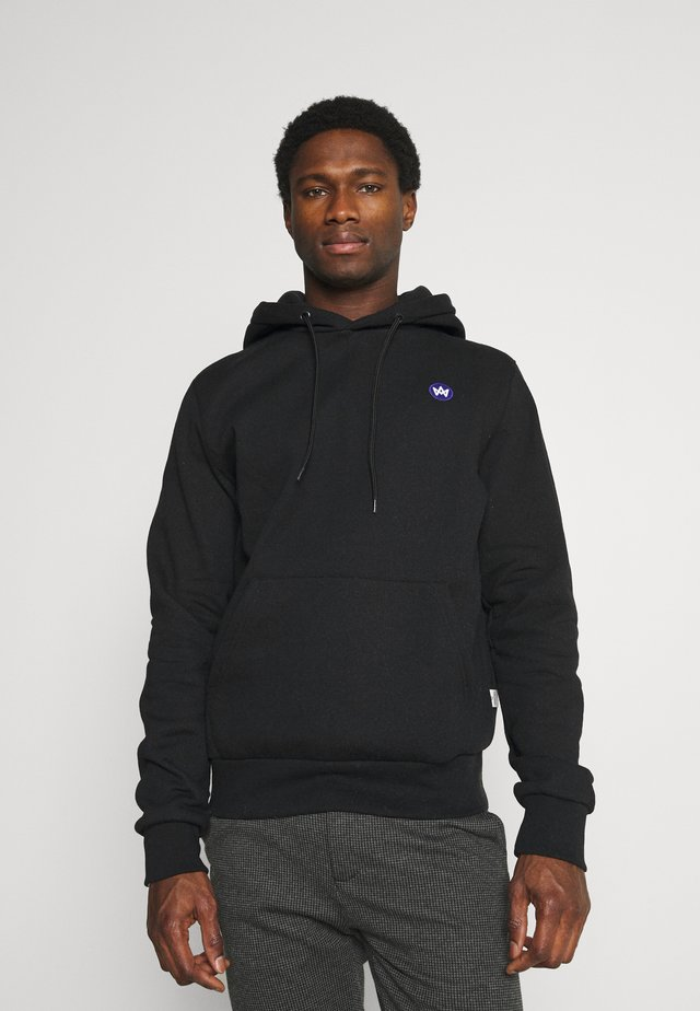 LARS HOOD  - Sweater - black