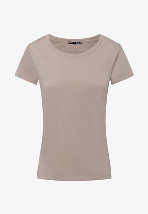 Basic T-shirt - beige
