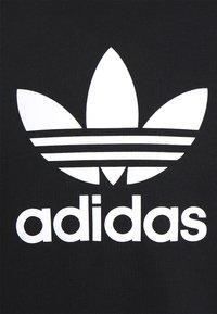 adidas Originals - TREFOIL CREW UNISEX - Bluza - black/white - 2