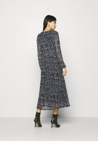 Freequent - Day dress - black mix - 2