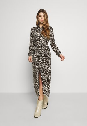 VMSIMPLY EASY LONG DRESS - Korte jurk - oatmeal