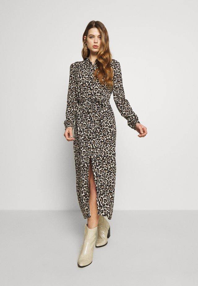 VMSIMPLY EASY LONG DRESS - Korte jurk - oatmeal