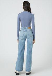 PULL&BEAR - Bluzka z długim rękawem - dark blue - 2