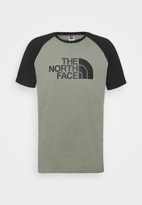 The North Face - RAGLAN EASY TEE - Triko spotiskem - agave green - 4