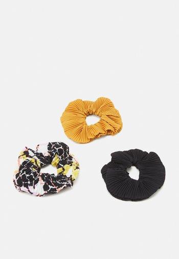 3 PACK - Akcesoria do stylizacji włosów - multi-coloured/black/mustard yellow