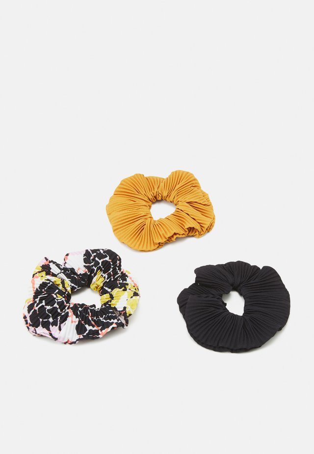 3 PACK - Hair styling accessory - multi-coloured/black/mustard yellow