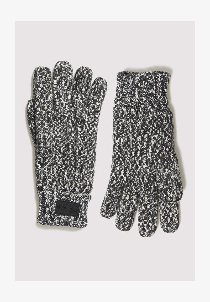 Superdry - STOCKHOLM  - Gloves - black grit