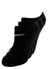 Nike Performance - LIGHTWEIGHT 3-PACK - Calcetines tobilleros - black - 0