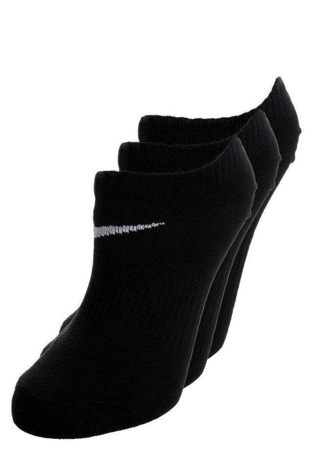LIGHTWEIGHT 3-PACK - Trainer socks - black