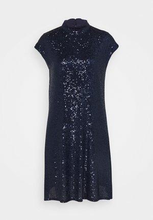 Koktejlové šaty/ šaty na párty - deep blue