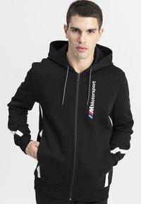 Puma - BMW M MOTORSPORT  - Zip-up hoodie - black - 0