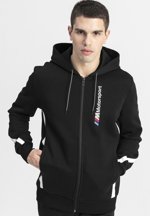 Puma - BMW M MOTORSPORT  - Zip-up hoodie - black