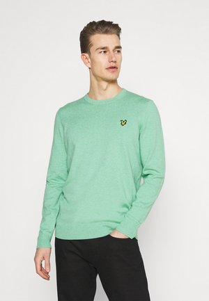 CREW NECK JUMPER - Neule - sea mint marl